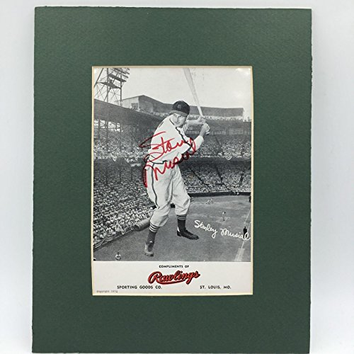 Stan Musial Autographed Photo - Autographed Stan Musial Photo - Rare 1952 Rawlings Promo COA - PSA/DNA Certified - Autographed MLB Photos