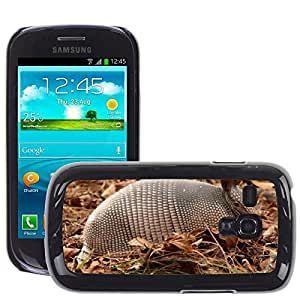 GoGoMobile Slim Protector Hard Shell Cover Case // M00123686 Armadillo Shell Mammal Wildlife // Samsung Galaxy S3 MINI i8190