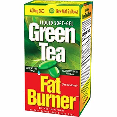 200 Green Tea Fat Burner 400mg EGCG Weight Loss Pills Applied Nutr.200 Softgels