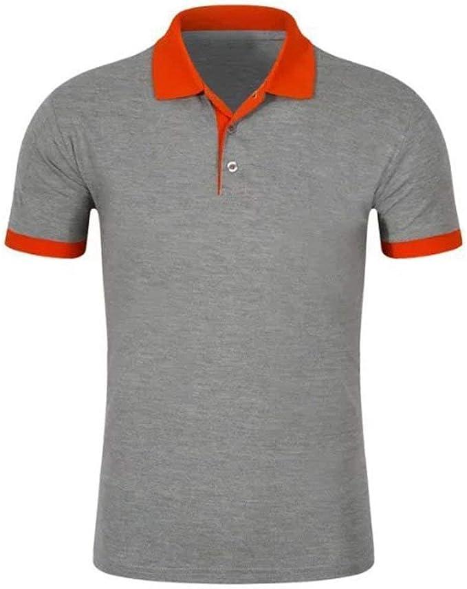 Camisa De Polo para Hombre De Solapa Fit De Verano Slim Polo De ...
