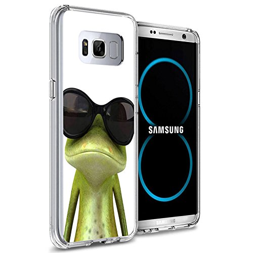 Frog Cell Phone Case (Galaxy S8 Plus Case, Samsung Galaxy S8 Plus Viwell TPU Soft Case Rubber Silicone The Frog)