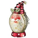 Regal Art & Gift Christmas Lantern, Santa