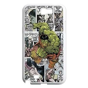 Samsung Galaxy N2 7100 Cell Phone Case White Marvel comic ioei