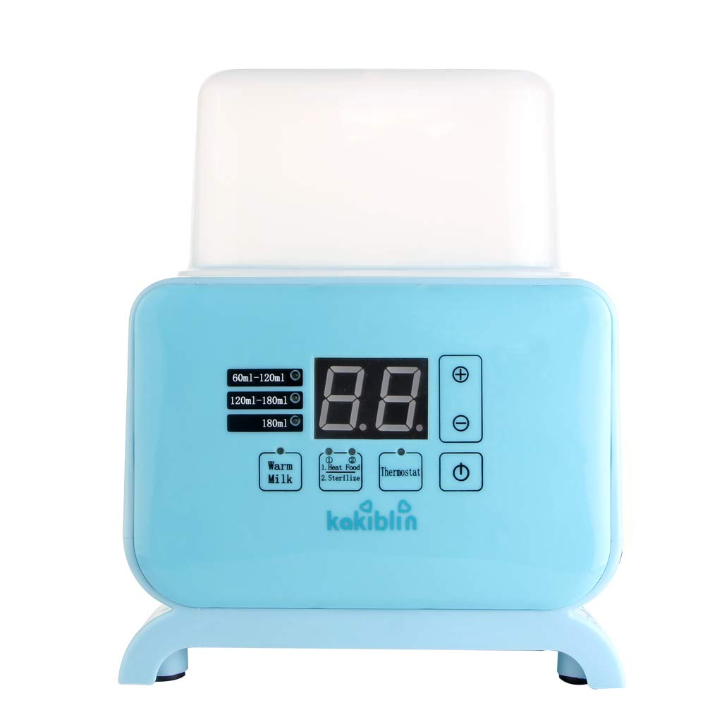 Kakiblin Fast Baby Bottle and Food Warmer, 4 in 1 Breast Milk Food Heater Thermostat with LCD Real-time Display