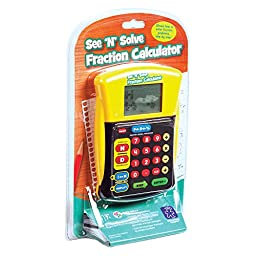 Educational Insights See \'N\' Solve Fraction Calculator