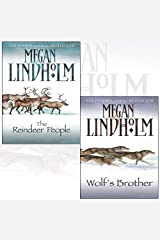 Megan Lindholm Reindeer People Vol (1 and 2) 2 Books Collection Set -The Reindeer People,Wolf's Brother Paperback