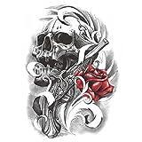 Black Fake Body Tattoos Fashion Tattoos Stickers Individual Styles Tattoo Design