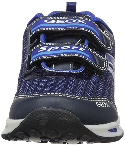 Geox J Shuttle a, Zapatillas para Niños Azul (Navy/royalc4226)