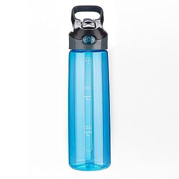 Axiba Botella de Agua 700ML Agua plástico Copa Deportes al Aire Libre Hervidor Agua plástico Copa