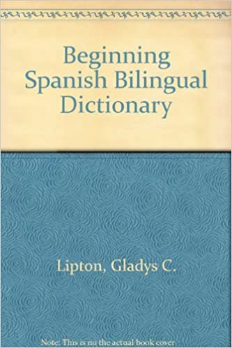 Book Beginning Spanish Bilingual Dictionary
