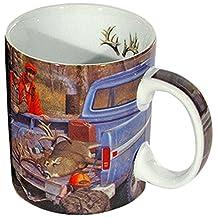 Reflective Art Men Boxed Coffee Mug, 16-Ounce