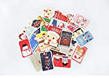 Christmas Cards 28 pcs/Pack Christmas Is Coming Mini Lomo Card Valentine's Day New Year Greeting Card Postcard Birthday Gift Message Cards