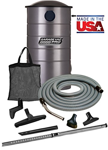 VacuMaid GV30PRO Professional Wall Mounted Utility Vacuum with 30 ft Hose and Tools (Industrial Hepa Filter compare prices)