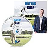 Better Golf Hypnosis CD - Lower Your Handicap, Improve Your Swing and More - Use the Power of Your Mind to Become a Better Golfer