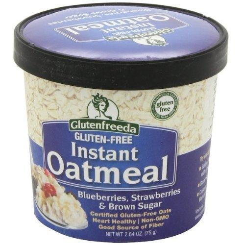 Glutenfreeda Foods BG13632 Glutenfreeda Foods Oatmeal Cup Blu-Str - 12x2.64OZ by Glutenfreeda Foods Inc. Glutenfreeda Foods