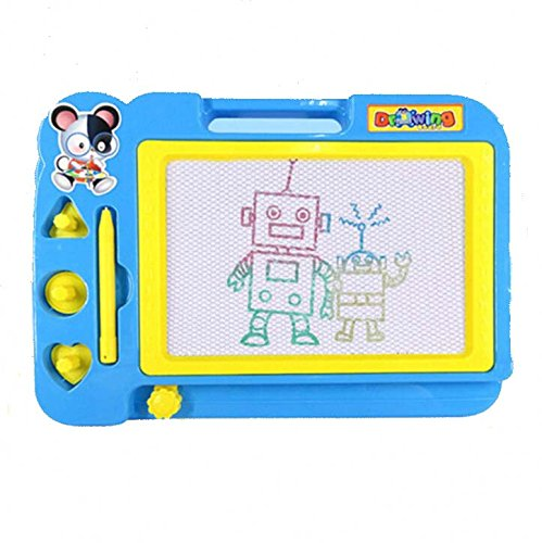 Price comparison product image HLJgift Plastic Magnetic Drawing Board Pad Doodle Writing Painting Toy Craft Art For Kids