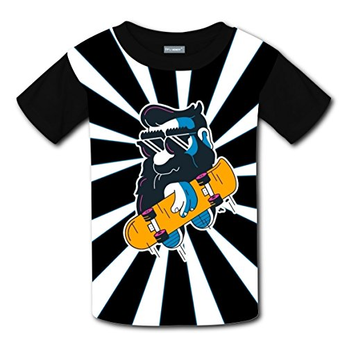 Custom Skate Costumes (Custom Playful Leisure Winter Tee Shirts With Skate For Girls M)