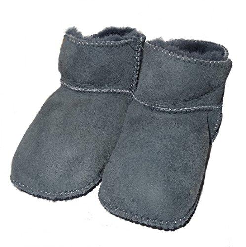 Gr 20 De Cordeiro Antracite Baby Pele Em 21 De Sapatos UwYPqZ