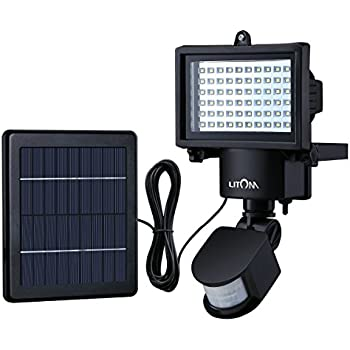 This Item Litom Bright 60 Led Solar Lights Outdoor Solar Security Lights With Motion Sensor Solar Flood Lights