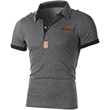 Clearance! Hot sale ! Charberry Fashion Personality Mens Casual Slim Short Sleeve Letter T Shirt Top Blouse
