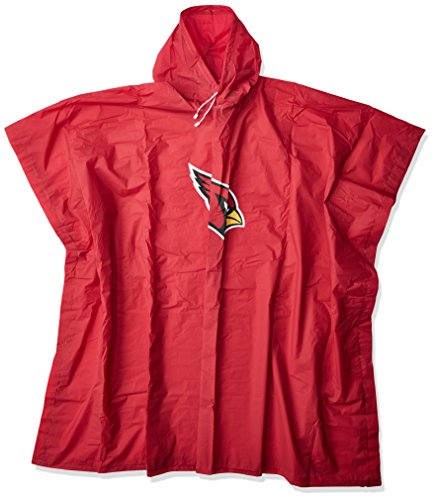 Officially Licensed NFL Arizona Cardinals Deluxe Poncho