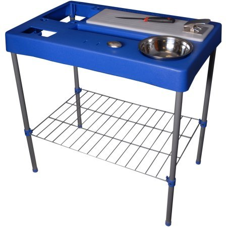 Sporting Goods Granite River Outdoors Fillet Station Table by River Outdoors
