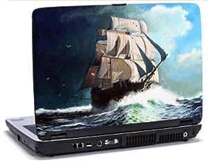 Para navegar acrílico de barco - vinilo adhesivo para portátil compatible con portátiles Dell Inspiron 15