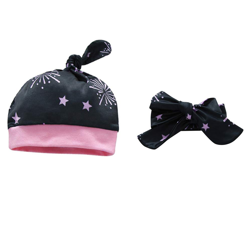 Chinatera Baby Boys Girls Clothes New Year 2019 Romper+Pants+Hat+Headband Outfit Set by Chinatera (Image #3)
