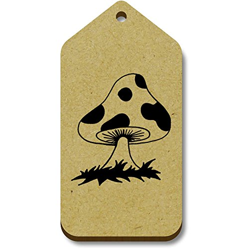 Tag 66mm Azeeda 34mm 'mushroom' regalo X tg00060233 10 bagaglio wqq4AftxXr