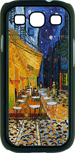 Vincent Van Gogh Café Terrace At Night- Case for the Samsung Galaxy S3 i9300 -Hard Black Plastic Case