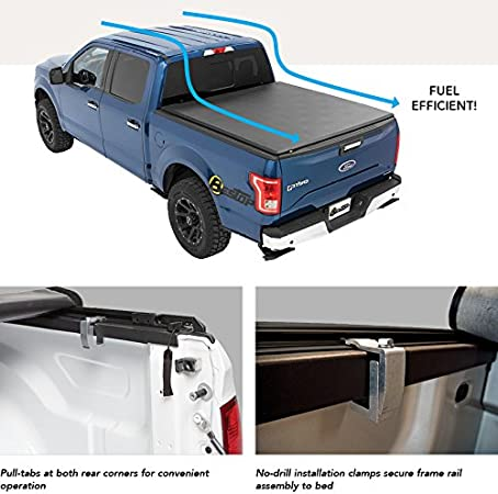 Amazon Com Bestop 1924501 Ez Roll Soft Tonneau Cover For Ford 09 18 F150 Styleside 6 5 Bed Automotive