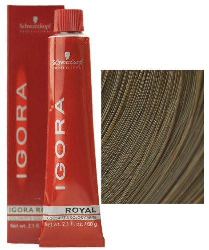 Schwarzkopf Igora Royal Colorist's Color Creme Tube 7-1 Medium Ash Blonde Ash Blonde Base