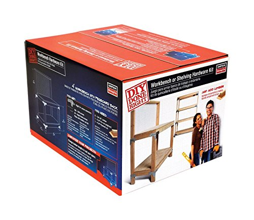 Simpson Strong-Tie WBSK Workbench and Shelving Hardware Kit (Simpson Tie Kit)