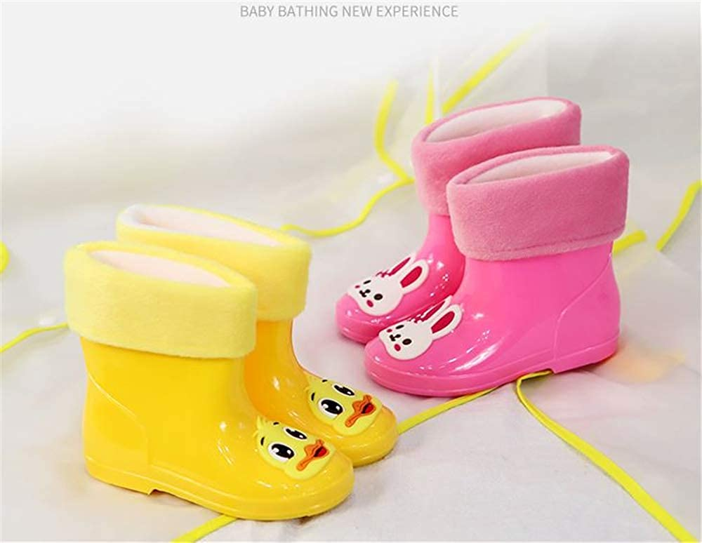 Sunny Day Toddler Kids Rain Boots Waterproof Shoes Cute Printed Shoes