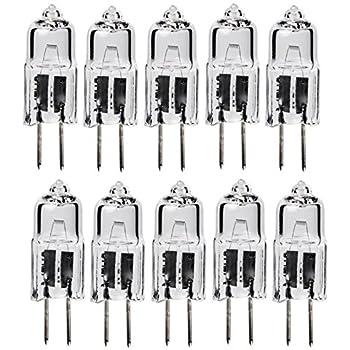 10pack - LSE Lighting G4 12V 5W Halogen Bulb JC Bi-Pin