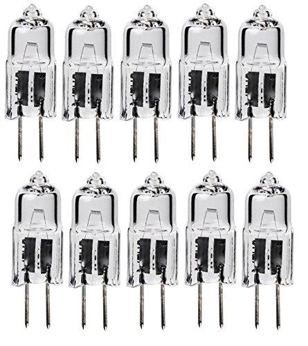 10pack - LSE Lighting G4 12V 5W Halogen Bulb JC Bi-Pin Light 5 watt 12 volt