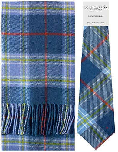Scarf Tie Gift Set Musselburgh Tartan Scottish Clan