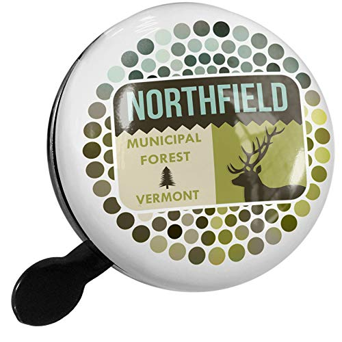 One Light Northfield (NEONBLOND Bike Bell National US Forest Northfield Municipal Forest Scooter or Bicycle Horn)
