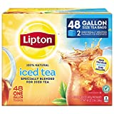 Lipton Iced Tea Bags, Gallon Size 48 ct