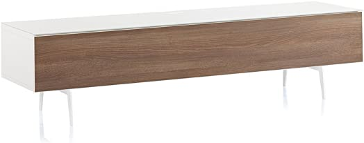 SONOROUS Studio ST-360 Wood and Glass Modern TV Stand