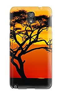 Snap-on Sunset Case Cover Skin Compatible With Galaxy Note 3