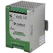 ASI XCSG960C 3-Phase DIN Rail Mount Power Supply, 24 VDC, 960W, 40 amp Output, 340 to 550 VAC Input
