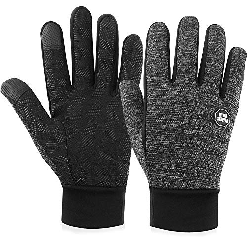Winter Gloves Touch Screen Gloves Anti-Skid Windproof Driving Riding Cycling Gloves Thermal Warm Gloves Outdoor Sport Gloves for Men and Women (Thick-Extra Large)
