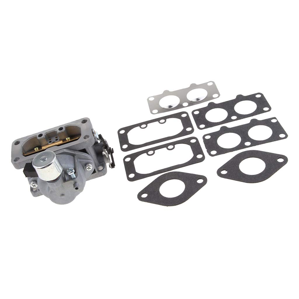 Flameer Carburetor and Gasket Replacement Assembly Fits for Kawasaki FX801V Chainsaw 15004-0940, 15004-0866