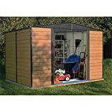 10FT x 6FT WOODVALE METAL SHED (3.13m x 1.81m)