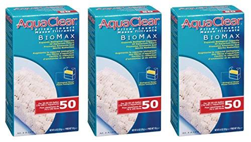 (3 Pack) Aquaclear 50-gallon Biomax ()