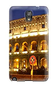 New Style 5792702K93758780 New Galaxy Note 3 Case Cover Casing(city Of Rome)