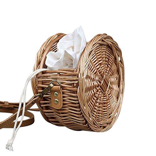 sac plage sac plage tissé de Nouveau la de sac de fleurs sac tissé main tissé à PwwTOqC