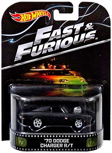 Hot Wheels '70 Dodge Charger R/T Fast & Furious 2014 Retro Series Die Cast Vehicle ()
