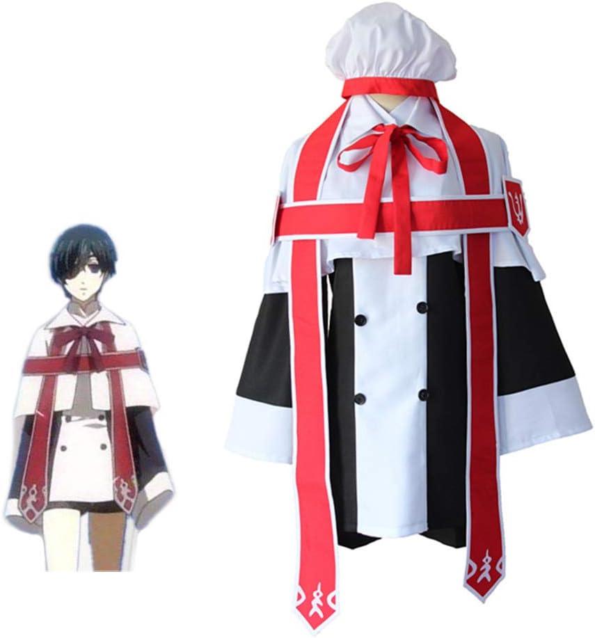 PAOFU-Anime Black Butler Kuroshitsuji Ciel Phantomhive Costume Cosplay Abito da Coro Abito da Chiesa